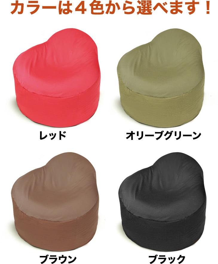 カラーはレッド、オリーブグリーン、ブラウン、ブラックの4色