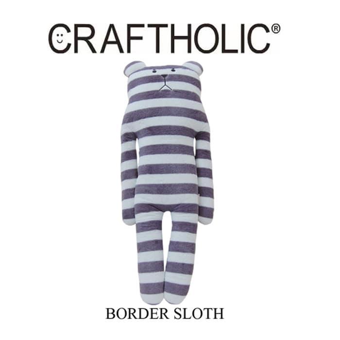 CRAFTHOLIC(クラフトホリック) スタンダードクラフト BORDER SLOTH (ボーダースロース) 画像1