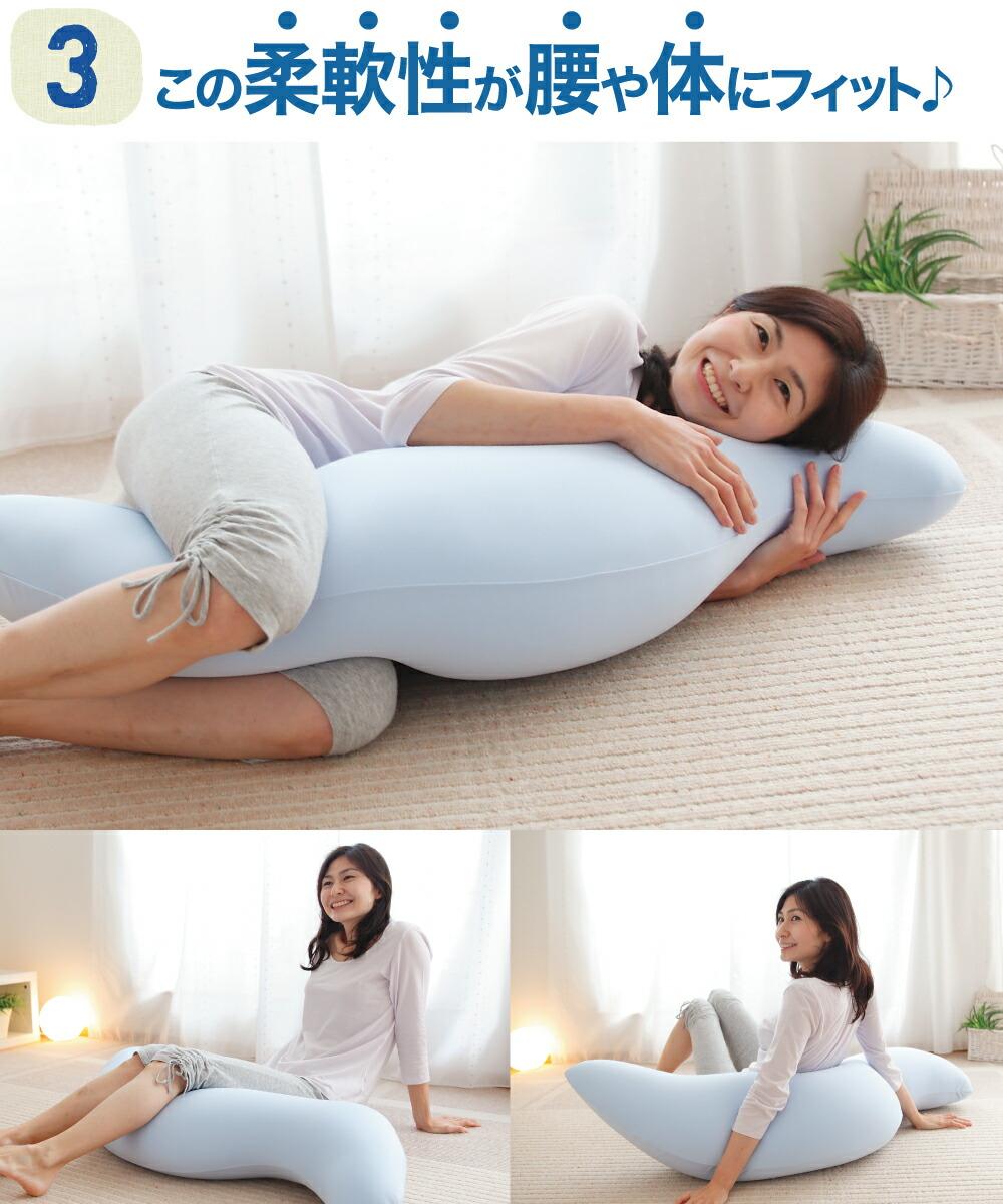 王様の抱き枕 クール 標準サイズ 画像4