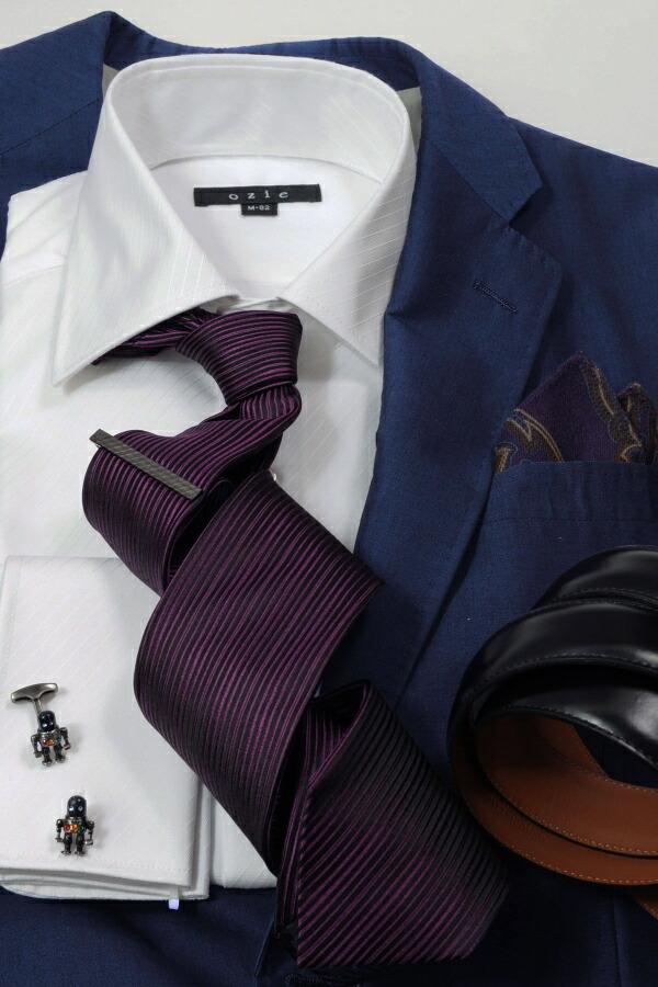 ブルー系スーツやジャケット