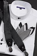 スタンドカラーシャツ メンズシャツ