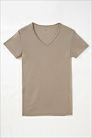 メンズ・インナー・Tシャツ・綿混・立体設計・マイクロモダール・吸湿速乾・抗菌防臭