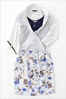カシュクールシャツ・日本製