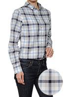 【レディースシャツ】リラックスフィット・カジュアル・長袖・ワイドカラー・日本製・SALE