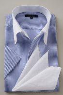 クールマックス・イタリアンカラー・半袖