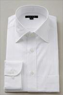メンズ・ドレスシャツ・ワイシャツ・タイトフィット・ワイドカラー・クレリック