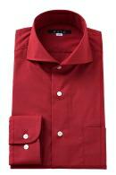 形態安定・赤シャツ