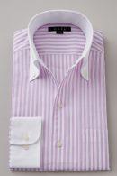 からみ織りシャツ・スキッパー(イタリアンカラー)&ボタンダウン・長袖