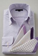 アイスコットン・スキッパー(イタリアンカラー)・長袖