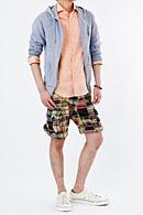 メンズ:フレンチリネンシャツ
