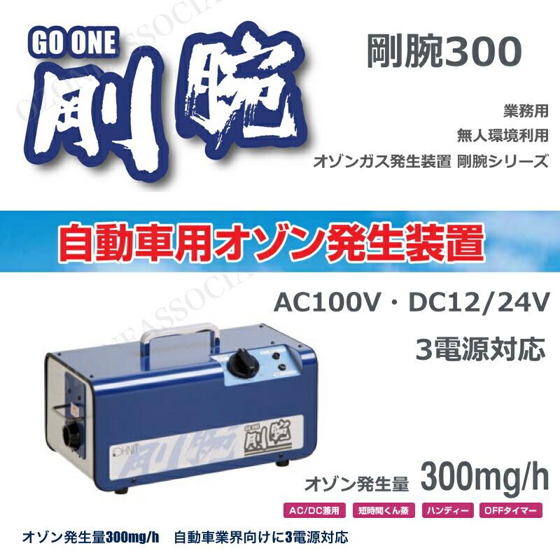 剛腕300 GWN-300CT オゾン脱臭器
