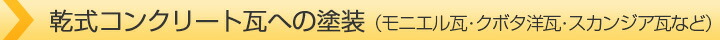 乾式コンクリート瓦への塗装(モニエル瓦・クボタ洋瓦・スカンジア瓦など)