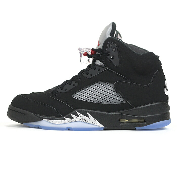 on sale authorized site genuine shoes Domestic genuine NIKE AIR JORDAN 5 RETRO OG / Nike Air Jordan 5 retro  SILVER-WHITE OG BLAC/FIRE RED-METALLIC / black / fire Red - Metallic silver  - ...