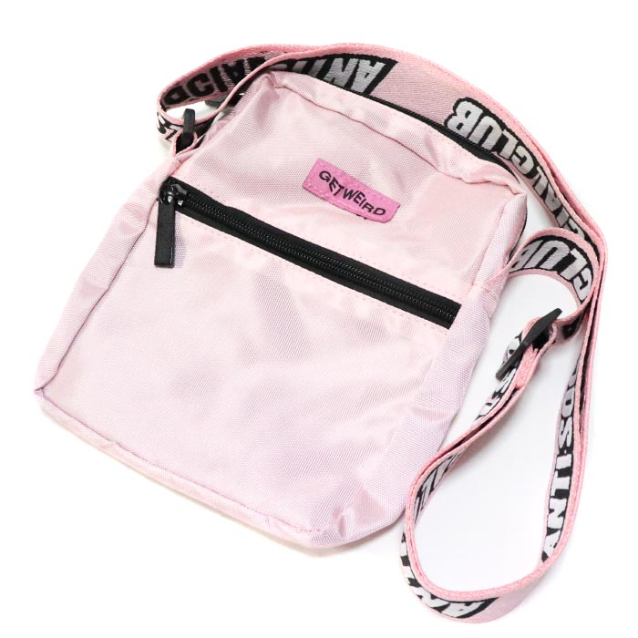 873b634c9ef3 Anti Social Social Club   antisocial social club SIDE BAG   side bag PINK    pink Shoulder bag   shoulder bag regular article 2018AW ASSC old and new  things ...