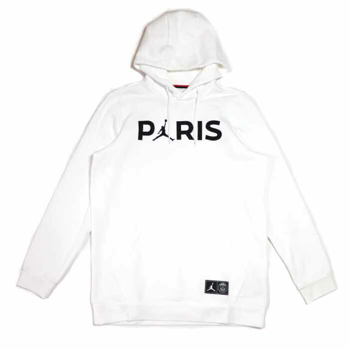 save off eec0d 28fa9 NIKE X PSG Paris Saint-Germain / Nike Paris Saint-Germain Jumpman Pullover  Hoodie / ジャンプマンプルオーバーフーディパーカー White / white white Air Jordan 2019SS regular  ...