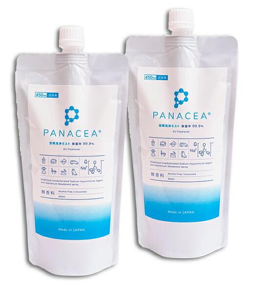 PANACEA (パナセア) 詰替用450mlx2本