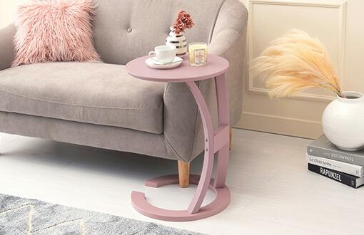 アースカラー サイドテーブル