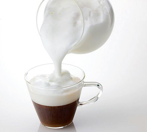 ふわふわミルクが簡単にできます