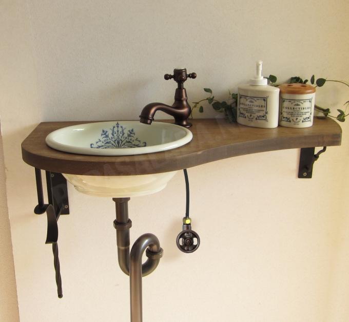 サブリナCC/コレクティブルズ手洗器セット設置例1