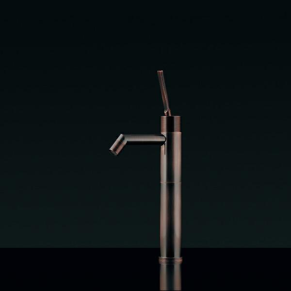 シングルレバートール立水栓(ブロンズ)