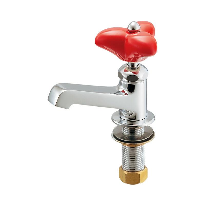 クロスハンドル立水栓(レトロ)