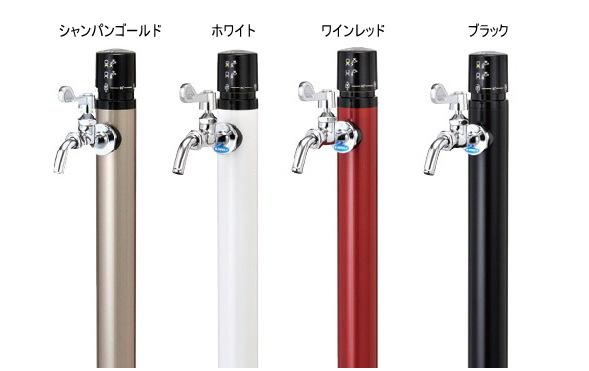 ワンプッシュ不凍水栓柱