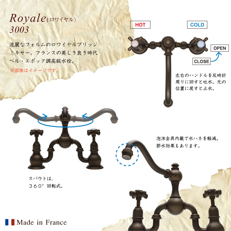 3003Royale(ロワイヤル)仕様説明