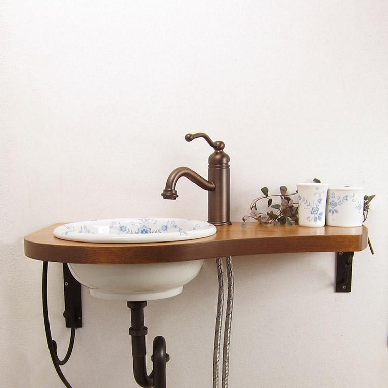 Essenceオールドイングランド手洗器Mラウンド