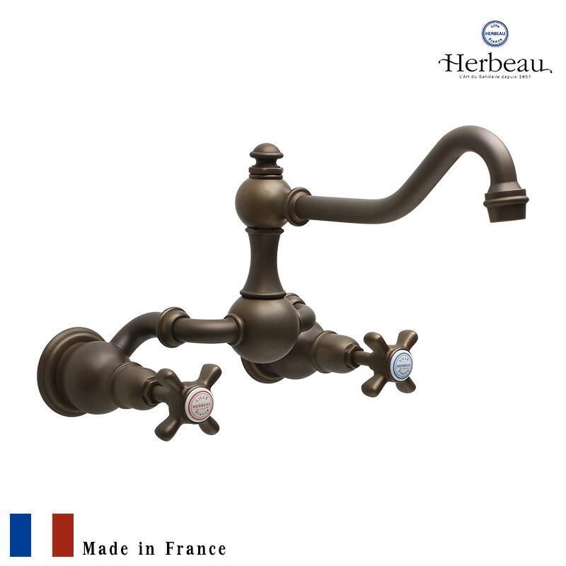 フランス製壁付混合栓