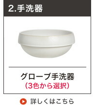 Essenceグローブ手洗鉢