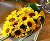 ひまわり20本の花束