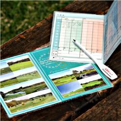 パークゴルフ用雨用スコアカード