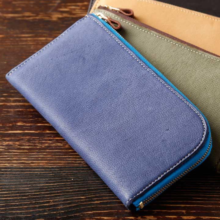 エルクL型長財布
