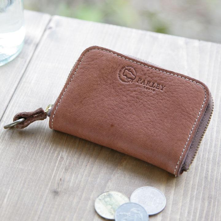エルク ラウンドミニ財布