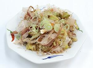 写真:豆腐の和風チャンプル