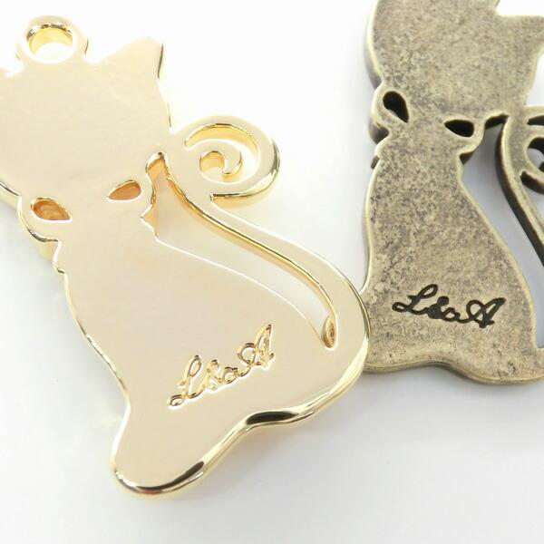 リボンの猫ちゃんミール皿★カン付きプレート★Diana★意匠登録商品★