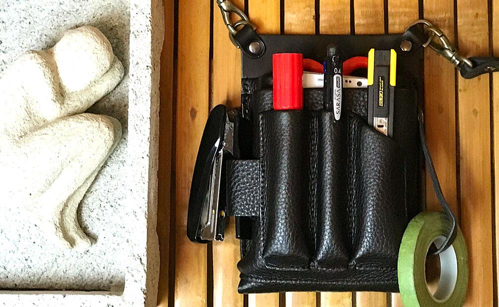 シザーケース フローリスト 本革 革 美容師 トリマー フローリストケース シザーバッグ