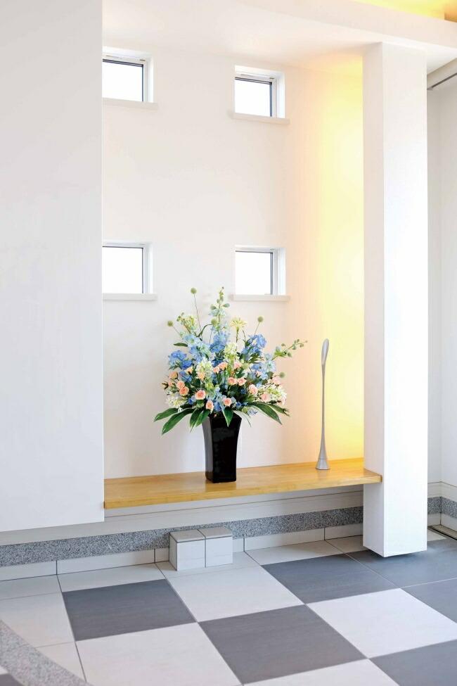 スイートブルー【アートフラワー 造花 】