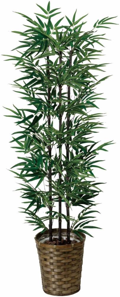 光触媒 黒竹 1.3m5【インテリアグリーン 人工観葉植物】