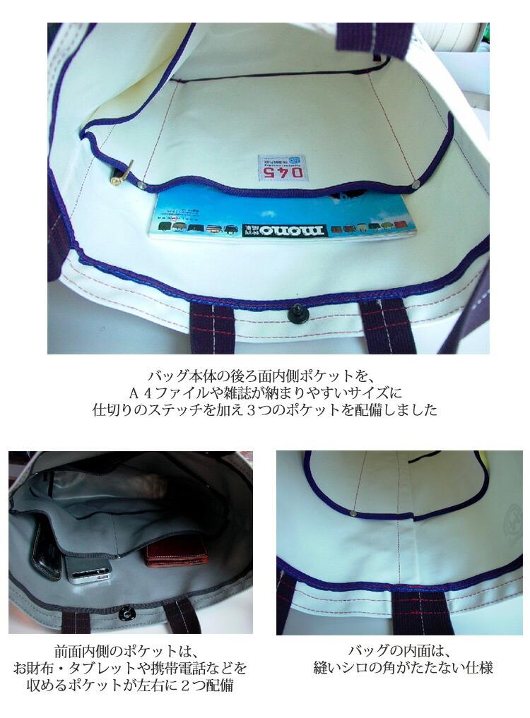 045 Yokohama Canvas Bag M15A2 Musette Carry Bag 詳細2