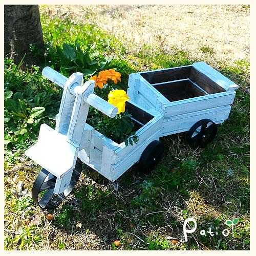 三輪車&リヤカープランター 2台セット