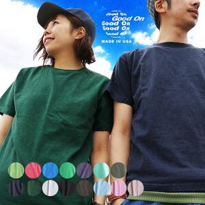 Tシャツ 半袖 カットソー クルーネック 5.5オンス 綿100% USAコットン 米綿 顔料染め ピグメント レディース トップス 春 40代 50代