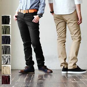 パンツ テーパード スリム チノ 薄手 高密度 ストレッチ ツイル メンズ レディース 春 40代 50代