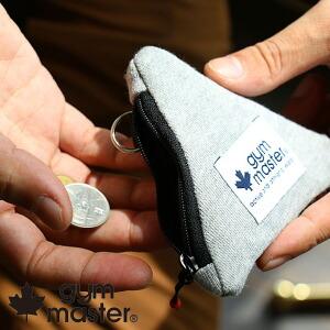 三角 コインケース キーケース 手のひらサイズ 小さい キーリング付き 小銭入れ カジュアル メンズ レディース 男女兼用 アウトドア キャンプ フェス