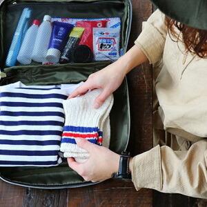 トラベルボックスS ポーチ ポリエステルキャンバス お泊りセット 容量5l レディース メンズ バッグ バッグインバッグ