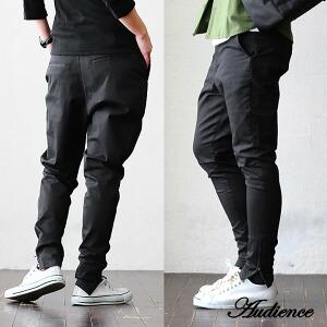 テーパードパンツ ジップ 2WAY スーパーテーパード アスレチック パンツ 日本製 国産 ブラック 黒 レディース メンズ 春 春物 ボトム