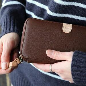 財布 ウォレット 長財布 ロングウォレット カウレザー 牛革 小銭入れ カード収納8枚 レディース 女性用
