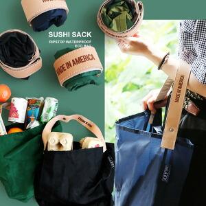 トートバッグ バッグ 鞄 カバン エコバッグ 折り畳み SUSHIサック SushiSack リップストップ 防水 旅行 買い物 サブバッグ ランドリーバッグ レディース メンズ 夏