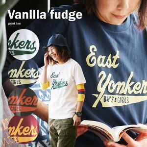 半袖 Tシャツ クルーネック ロゴプリント EAST YONKERS 綿100% ボックスシルエット ユースサイズ Tee レディース 女性用 春 春物