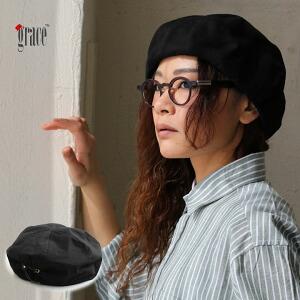 ベレー ベレー帽 帽子 ぼうし コットン製 ストレッチ ENVELOPE 伸縮性 レザー使い ゴム レディース メンズ 春 春物